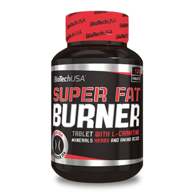 Super Fat Burner 120 tabletta - biotech.shop.hu