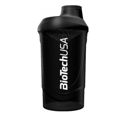 Fekete füst Wave Shaker 600 ml - biotech.shop.hu