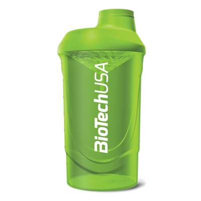 Zöld Wave Shaker 600 ml - biotech.shop.hu