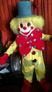 Clown Mascot Costume Adult Clown Costume