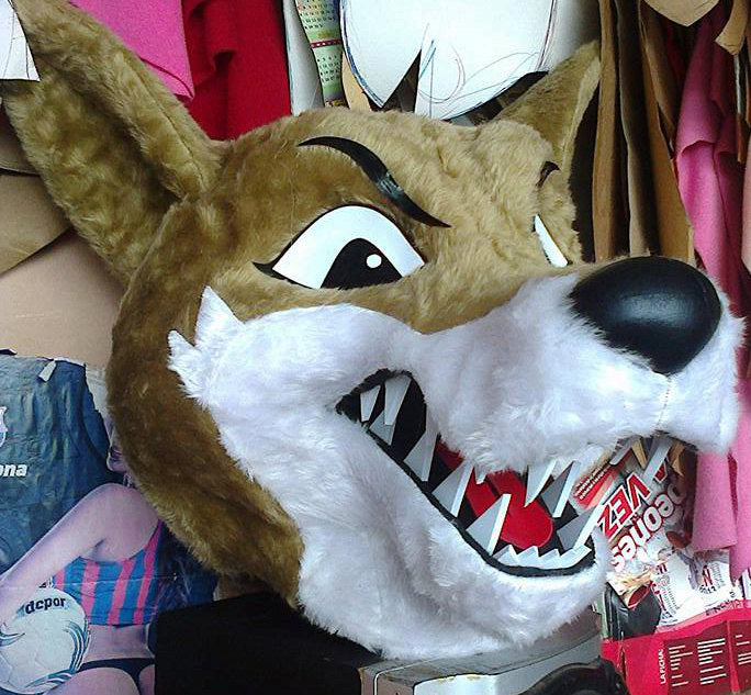 Wolf Fursuit Head