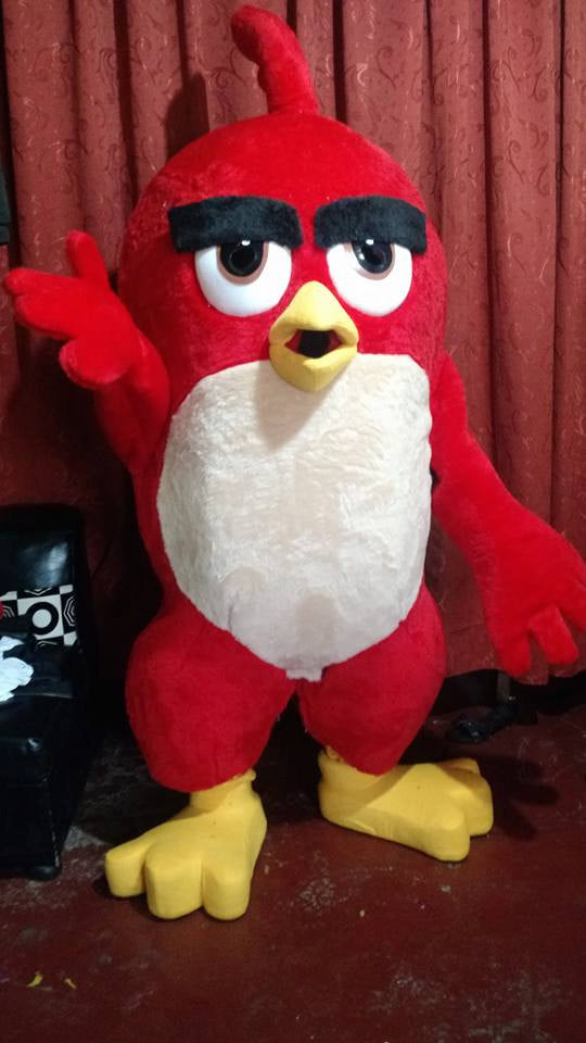 Red Angry Bird Mascot Costume Adult Character Costume