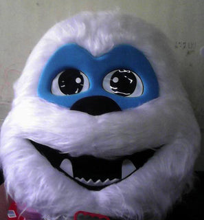 Abominable Snowman Mascot Costume Head Adult Costume