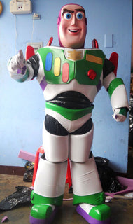 Buzz Lightyear Adult Mascot Costume For Sale