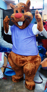 Beaver Mascot Costume Adult Costume For Sale