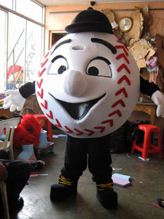 Baseball Mascot Costume Adult Sports Costume