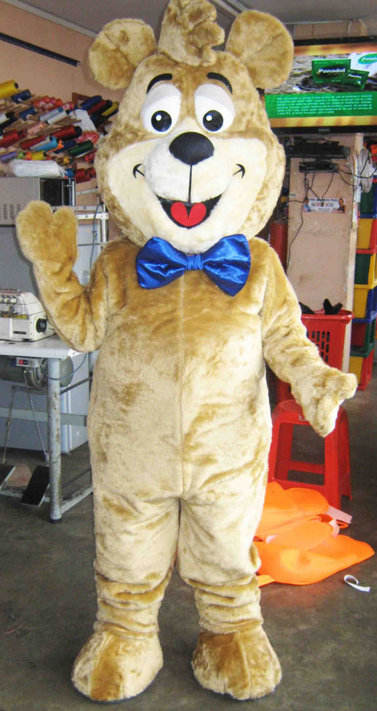 Boo Boo Bear Mascot Costume Adult Costume For Sale