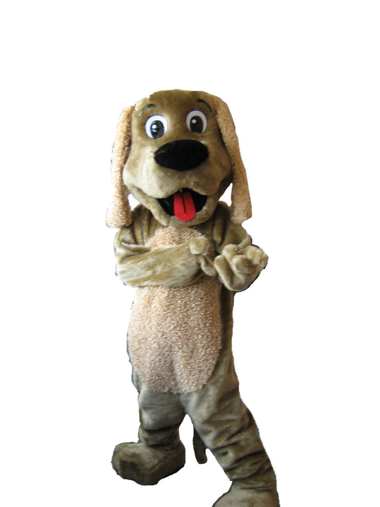 Dog Mascot Costume Adult Stray Dog Costume