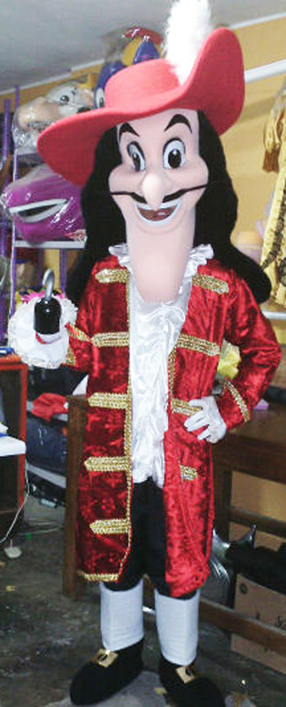 Captain Hook Mascot Costume Adult Costume
