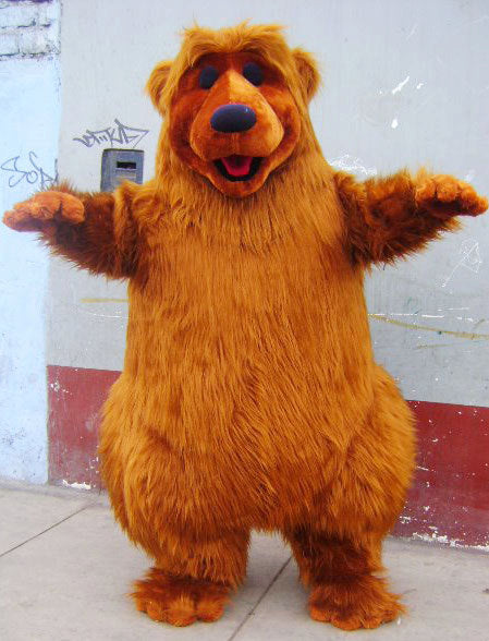 Bear Mascot Costume Adult Bear Costume
