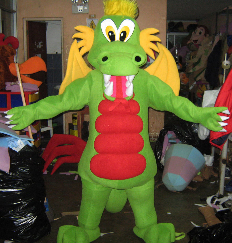 Dragon Mascot Costume Adult Dragon Costume