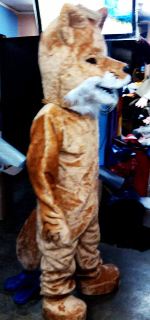 Fox Mascot Costume Adult Costume