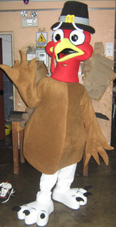 Turkey Mascot Costume Adult Costume