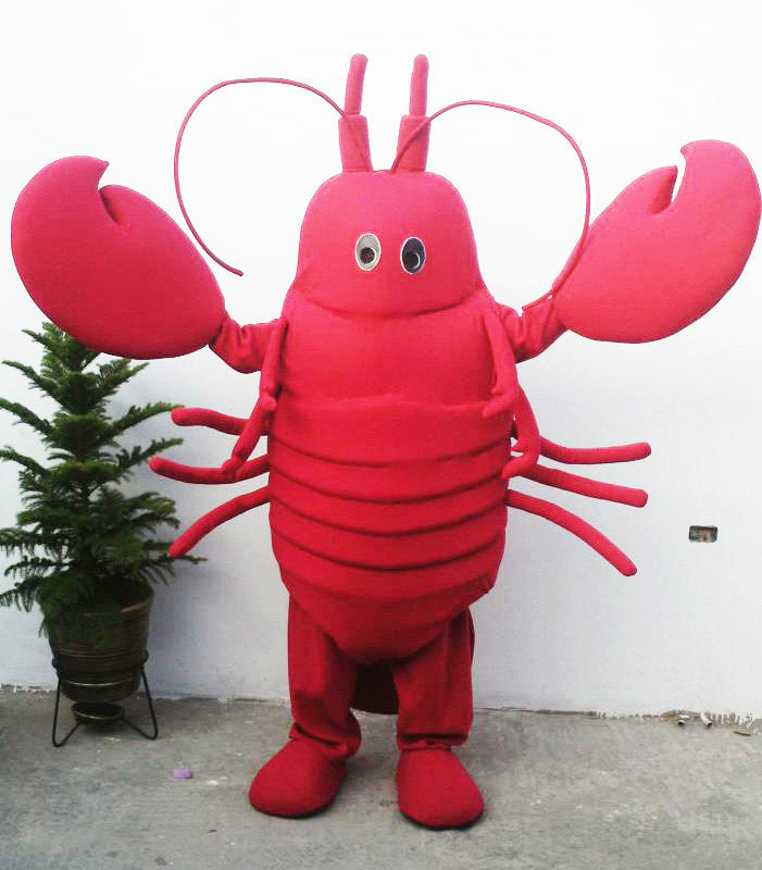 Lobster Mascot Costume Adult Lobster Costume