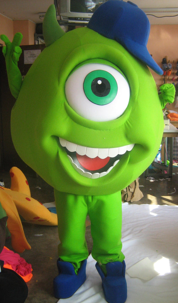 Monsters Inc Mike Mascot Costume Adult Costume