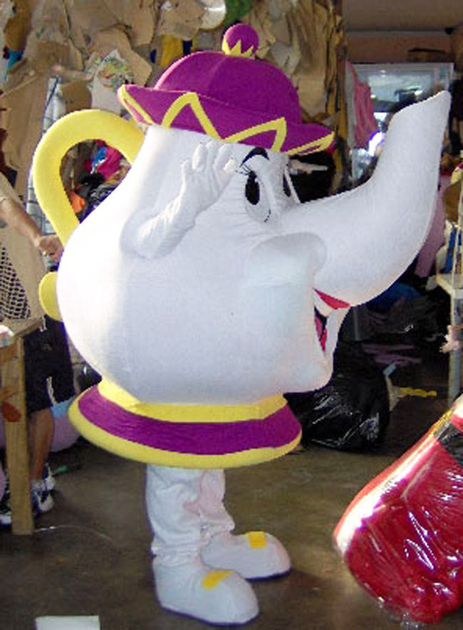 Mrs Potts Mascot Costume Adult Costume