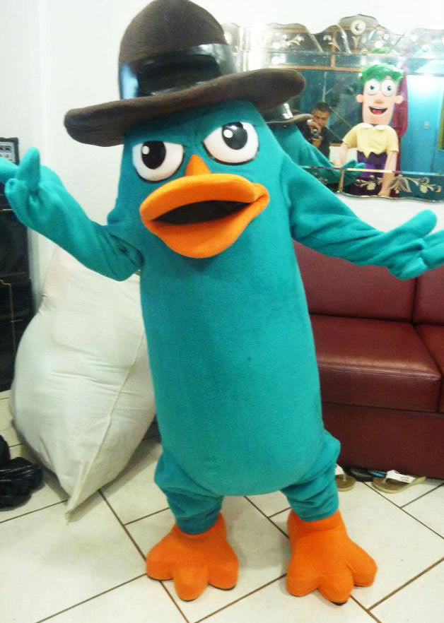 Perry the Platypus Mascot Costume Adult Costume