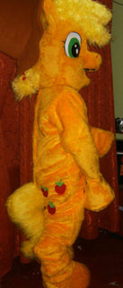 Applejack Mascot Costume Adult Costume