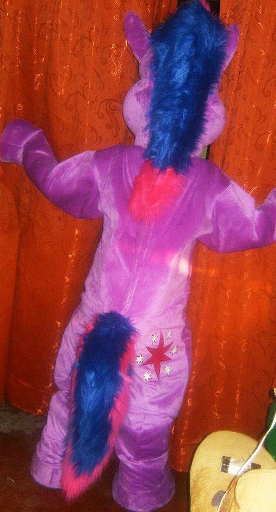 Twilight Sparkle Mascot Costume Adult Costume