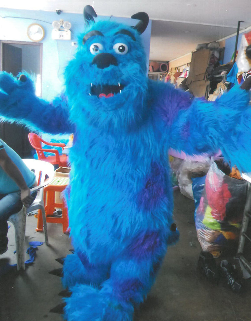 Monsters Inc Sully Mascot Costume Adult Costume