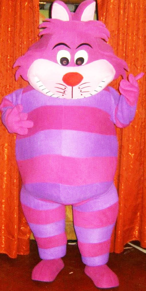 Cheshire Cat Mascot Costume Adult Costume