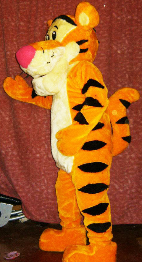Tiger Mascot Costume Adult Costume 002