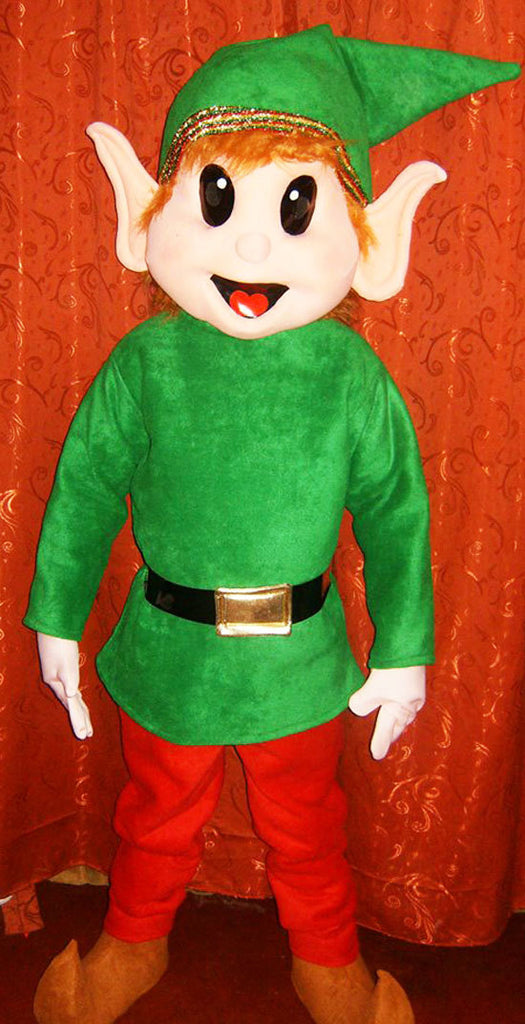 Elf Mascot Costume Adult Costume
