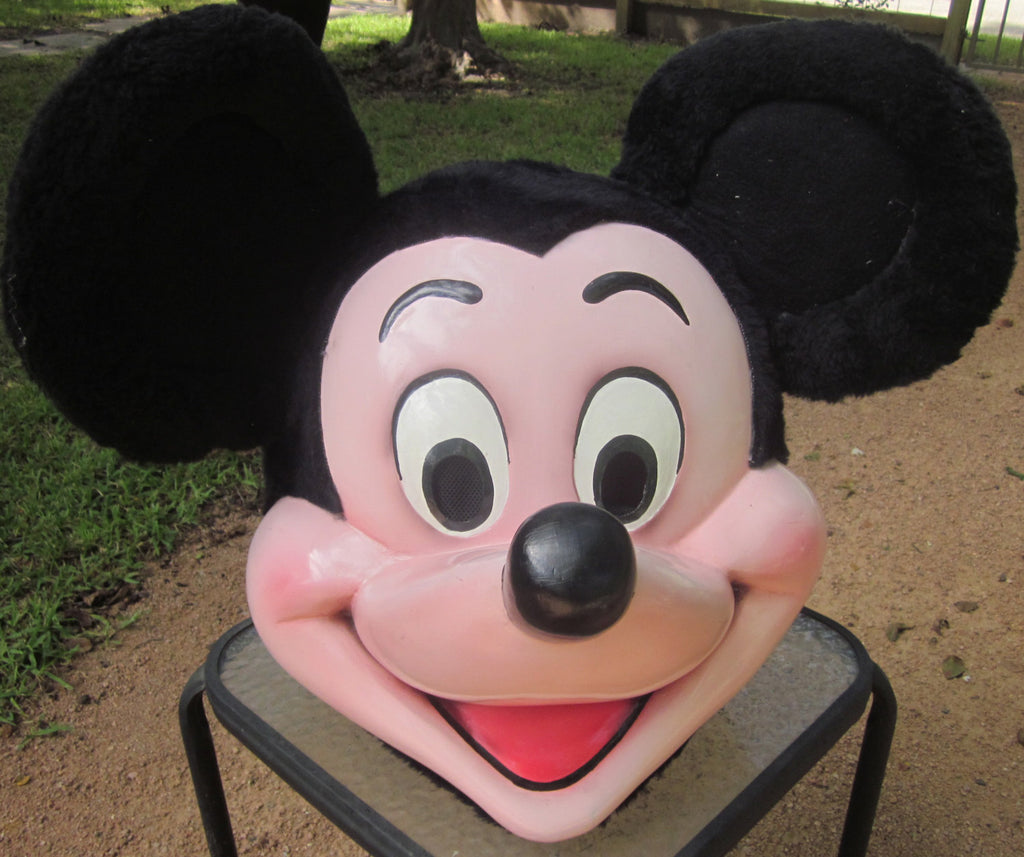 Mickey Mouse Mascot Costume Head ONLY STD Adult size