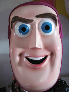 Buzz Lightyear Mascot Costume Adult Head