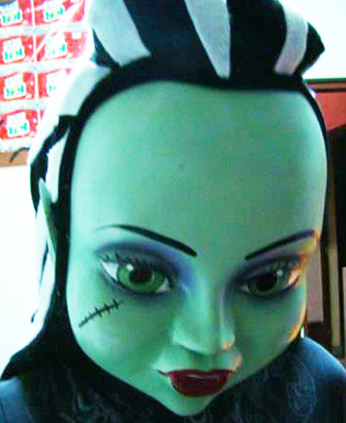 Monster High Mascot Costume Head ONLY STD Adult size