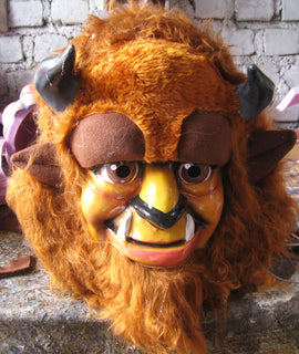 Beast Mascot Costume Head ONLY STD Adult size