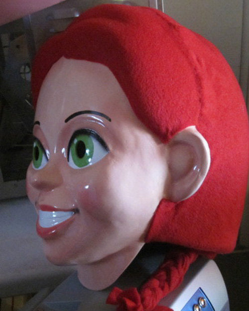 Jessie Mascot Costume Head ONLY STD Adult size