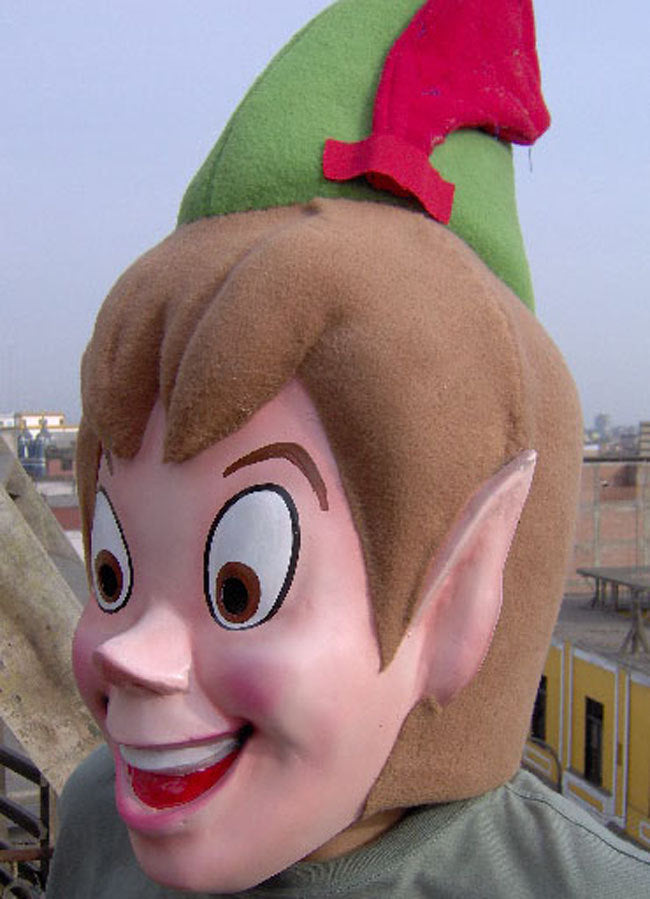 Peter Pan Mascot Costume Head ONLY STD Adult size