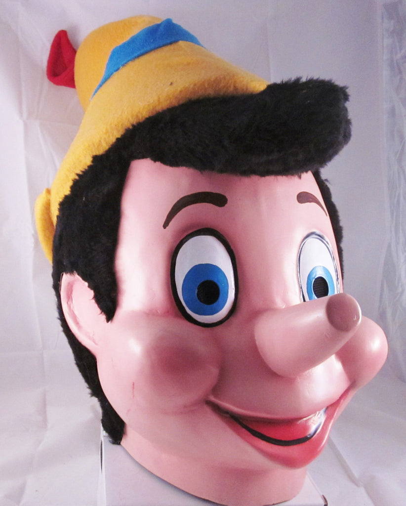 Pinocchio Mascot Costume Head ONLY STD Adult size