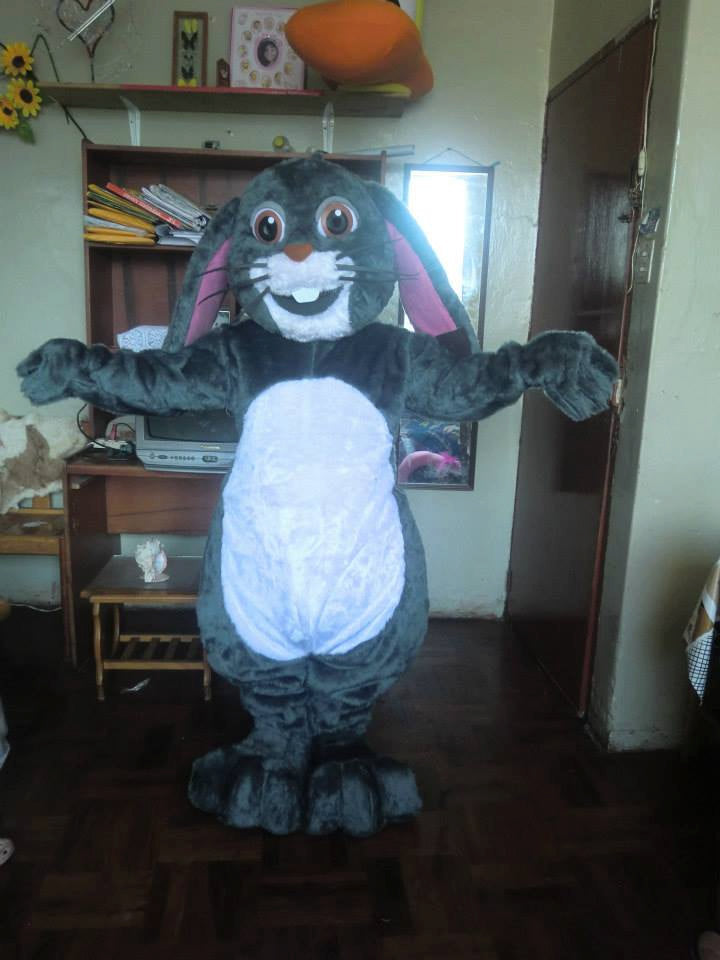 Funny Easter Bunny Mascot Costume Adult Costume