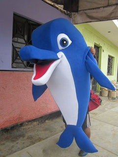 Dolphin Mascot Costume Adult Costume