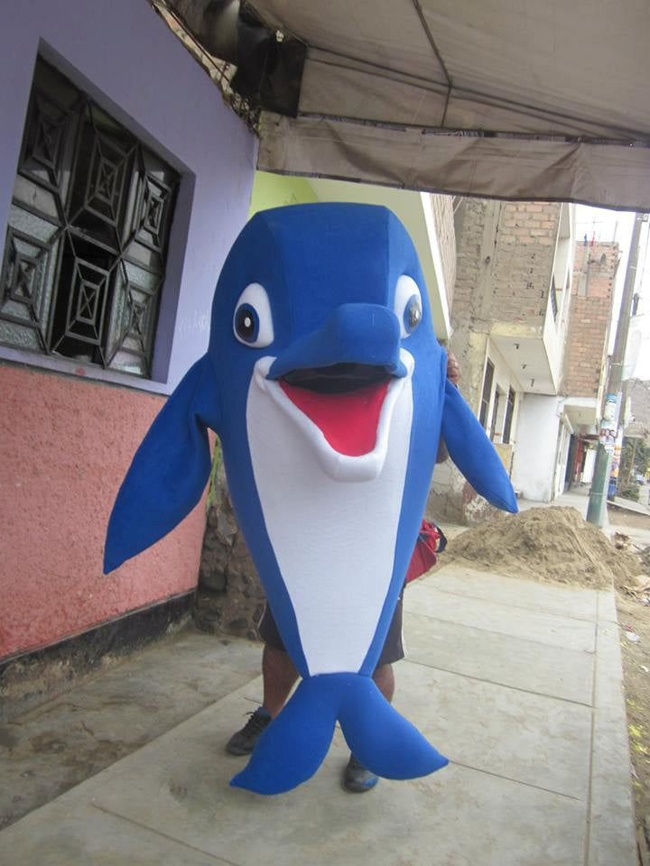Dolphin Mascot Costume Adult Dolphin Costume