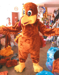 Turkey Mascot Costume Adult Costume 003