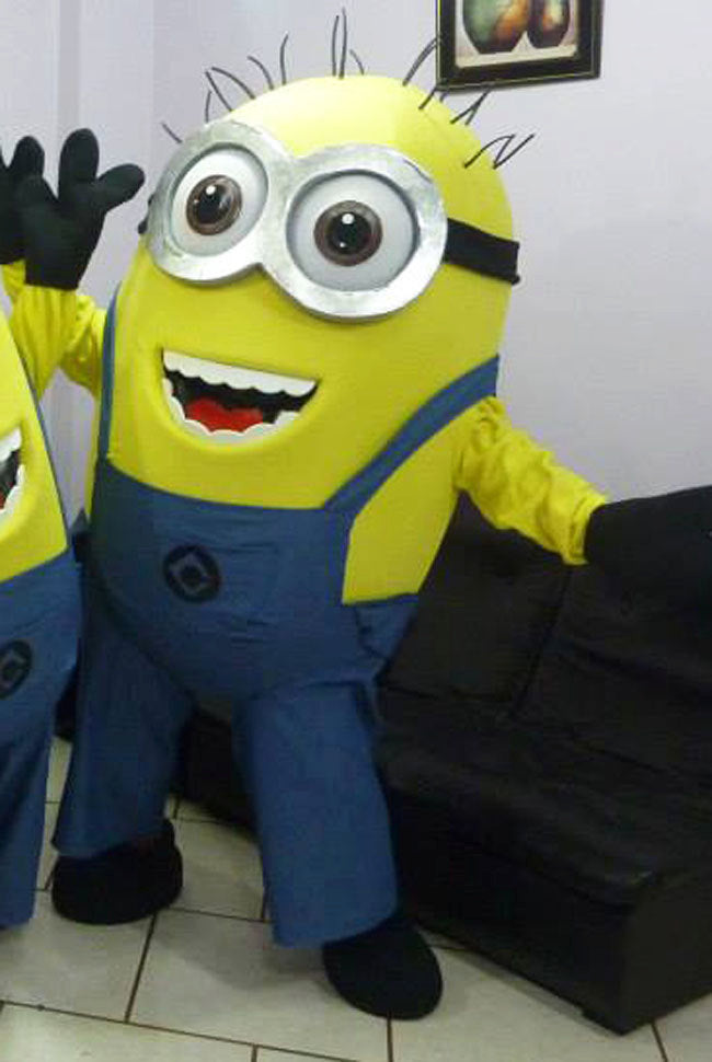 Minion Mascot Costume Adult Despicable Me Costume