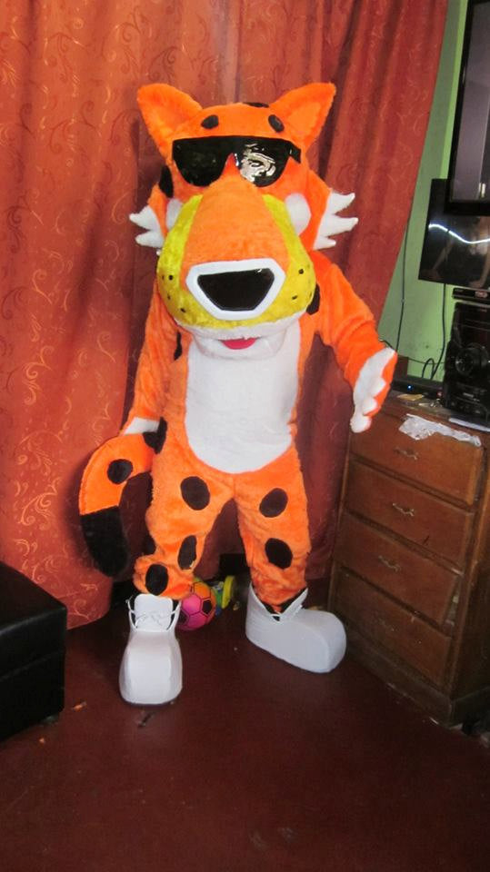 Chester Mascot Costume Adult Chester Costume