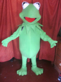 Kermit the Frog Mascot Costume Adult Frog Costume