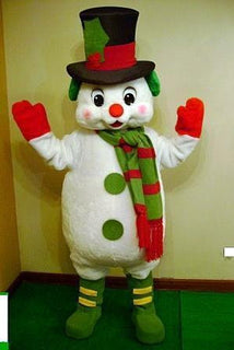 Frosty the Snowman Mascot Costume Adult Costume