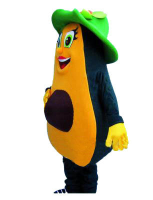 Avocado Mascot Costume Adult Food Costume For Sale