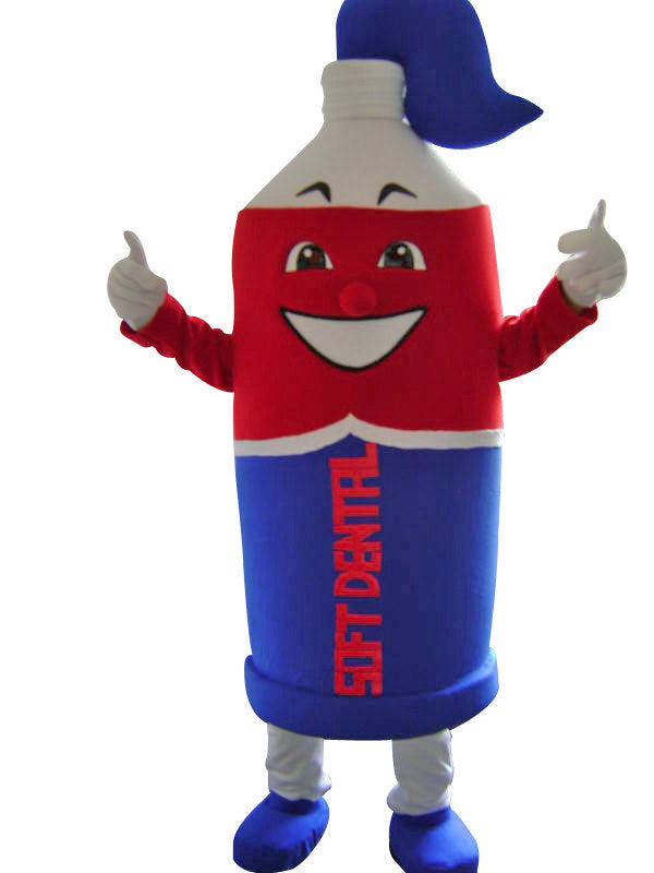 Toothpaste Mascot Costume Adult Character Costume