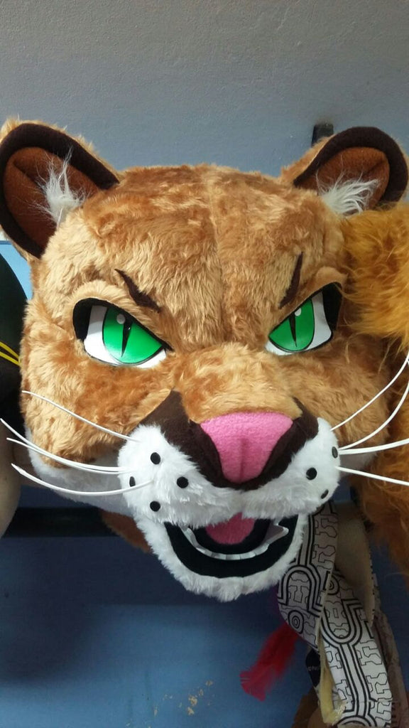Tiger Mascot Costume Head ONLY STD Adult size