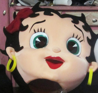 Betty Boop Mascot Costume Head For Sale