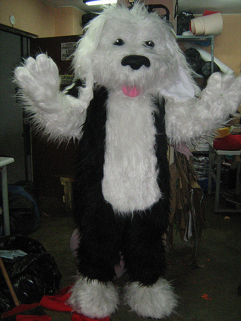 Shaggy Dog Mascot Costume Adult Costume