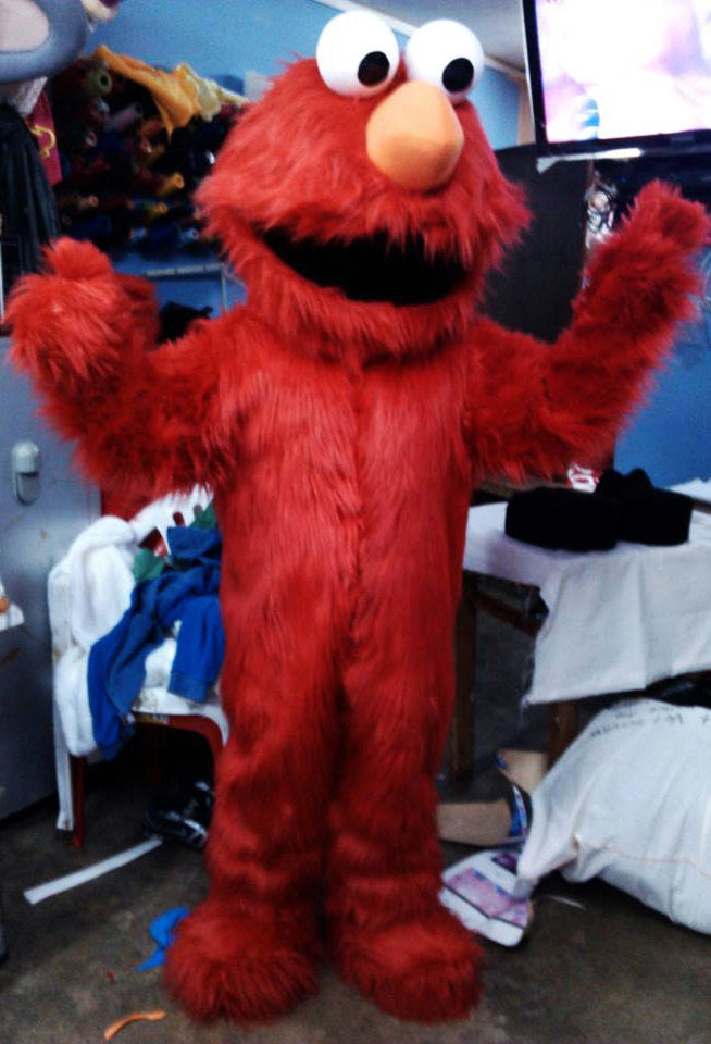 Elmo Mascot Costume Adult Elmo Costume