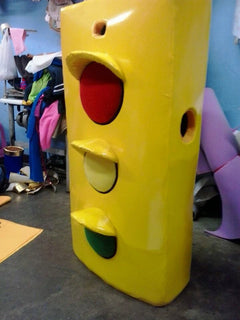 Traffic Light Mascot Costume Adult Character Costume