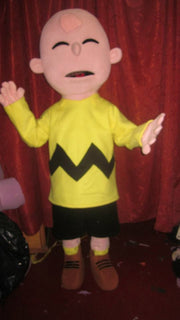 Charlie Brown Mascot Costume Adult Costume